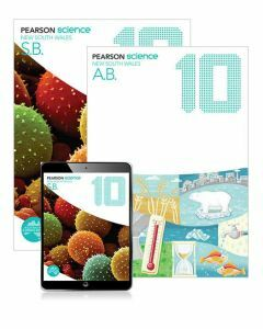 Pearson Science NSW 10 Student Book, eBook and Activity Book