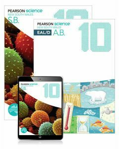 Pearson Science NSW 10 Student Book, eBook and EAL/D Activity Book