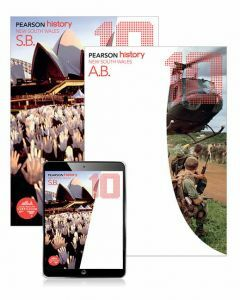 Pearson History NSW 10 Student Book, eBook and Activity Book