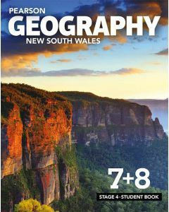 Pearson Geography New South Wales Stage 4 Student Book with access code