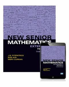New Senior Mathematics Extension 2 Year 12 Student Book with eBook (3e)