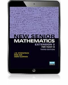 New Senior Maths Extension 2 eBook Access Code (3e)
