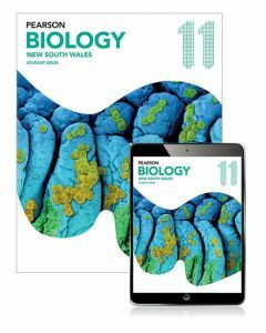 Pearson Biology 11 NSW Student Book with eBook