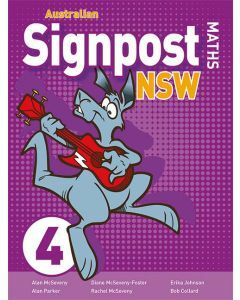 Australian Signpost Maths NSW 4 Student Activity Book 2ed