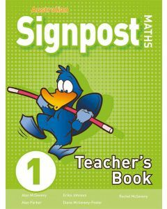 Australian Signpost Maths 1 Teacher's Book (3e)