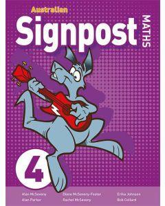 Australian Signpost Maths 4 Student Activity Book (3e)