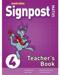 Australian Signpost Maths 4 Teacher's Book (3e)