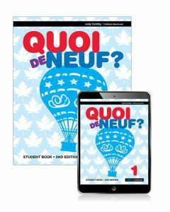 Quoi de Neuf? 1 Student Book with eBook 2ed
