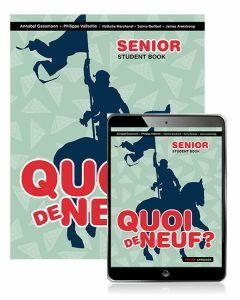 [Pre-order] Quoi de Neuf? Senior Book with eBook 2ed [Due Nov 2019]