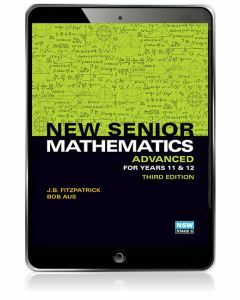 New Senior Mathematics Advanced Year 11 & 12 eBook Access Code (3e)