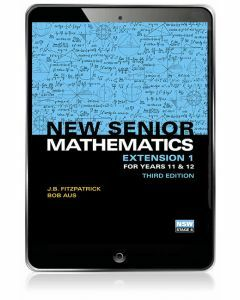 New Senior Mathematics Extension 1 Year 11 & 12 eBook Access Code (3e)