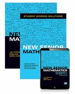 New Senior Mathematics Extension 1 Year 11 & 12 Student Book, eBook and Student Worked Solutions Book (3e)