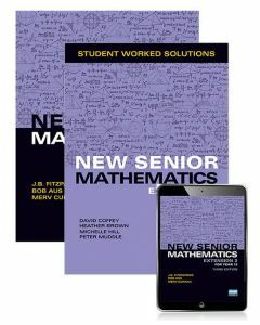 New Senior Maths Extension 2 Student Book with Reader+ AND Worked Solutions Book
