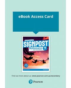 Australian Signpost Mathematics NSW 7 eBook (Access Code)