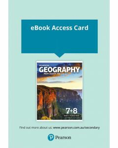 Pearson Geography NSW Stage 4 Reader+ (Access Code)