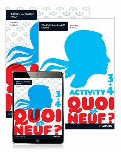 Quoi de neuf? 3+4 Student Book, eBook and Activity Book (1e)