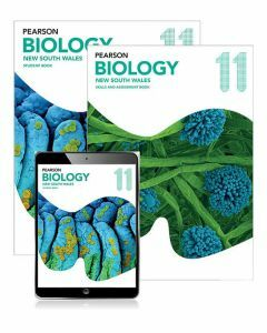 Pearson Biology 11 NSW Student Book, eBook and Skills & Assessment Book
