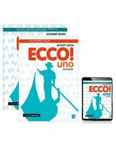 Ecco! uno Student Book, eBook and Activity Book (2e)