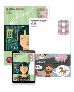 Pearson English 8 Student Book, eBook and Activity Book (2e)
