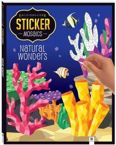Kaleidoscope Sticker Mosaics: Natural Wonders