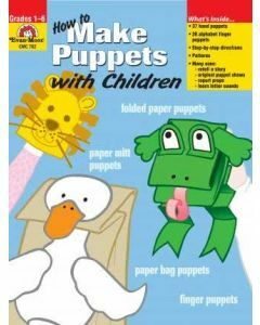 How to Make Puppets with Children (Ages 6-12)