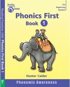 Phonics First Level Book 1: Phonemic Awareness Ages 4+