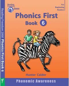 Phonics First Level Book 6: Diphthongs, Digraphs, Vowels before r, Silent Letters Ages 4+
