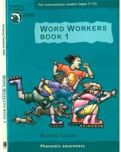 Word Workers Book 1: Phonemic Awareness Ages 7-11