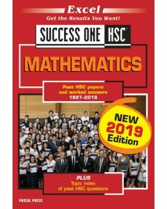 Excel Success One HSC Mathematics 2019 edition