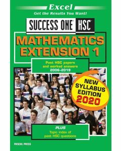 [Pre-order] Excel Success One HSC Mathematics Extension 1 2020 Edition