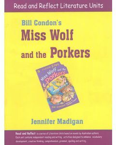 Miss Wolf and the Porkers Read and Reflect Literature Unit