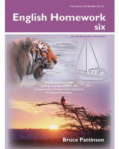 English Homework Six