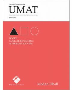 UMAT Series 2 Book 1 Logical Reasoning & Problem Solving