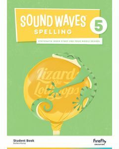 [Pre-order] Sound Waves Spelling 5 Student Book [Due Jun 2021]