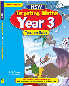 NSW Targeting Maths Year 3 Teaching Guide Australian Curriculum Edition