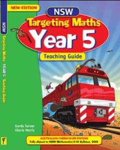 NSW Targeting Maths Year 5 Teaching Guide Australian Curriculum Edition