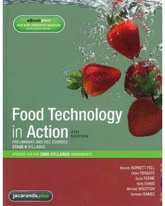 Food Technology in Action 4th Edition Print & eBookPLUS
