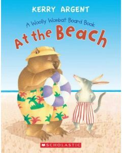 At the Beach - A Woolly Wombat Board Book
