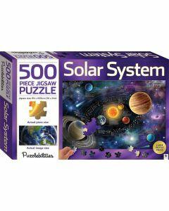 Puzzlebilities Solar System 500 Piece Jigsaw Puzzle