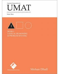 UMAT Series 3 Book 1 Logical Reasoning & Problem Solving