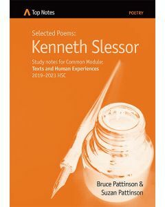 Top Notes Kenneth Slessor: Common Module 2019-2023