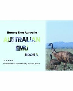 Book 3: Australian Emu in English & Indonesian
