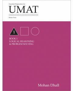 UMAT Series 4 Book 1 Logical Reasoning & Problem Solving
