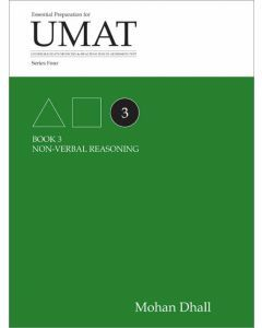 UMAT Series 4 Book 3 Non-verbal Reasoning