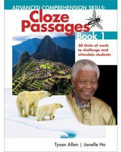 [Pre-order] Advanced Comprehension Skills: Cloze Passages Book 1 [Due Oct 2021]