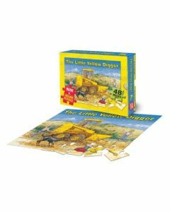 The Little Yellow Digger Book & Jigsaw