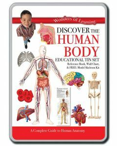 Wonders of Learning: Discover the Human Body Educational Tin Set