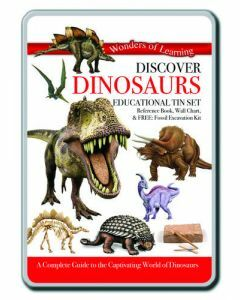 Wonders of Learning: Discover Dinosaurs Educational Tin Set
