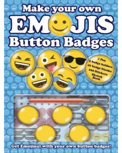Make Your Own Emojis Button Badges (Ages 8+)
