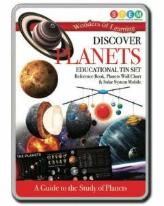 Wonders of Learning: Discover Planets STEM Educational Tin Set